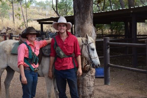 Sam and Laura - Cowboy and Cowgirl